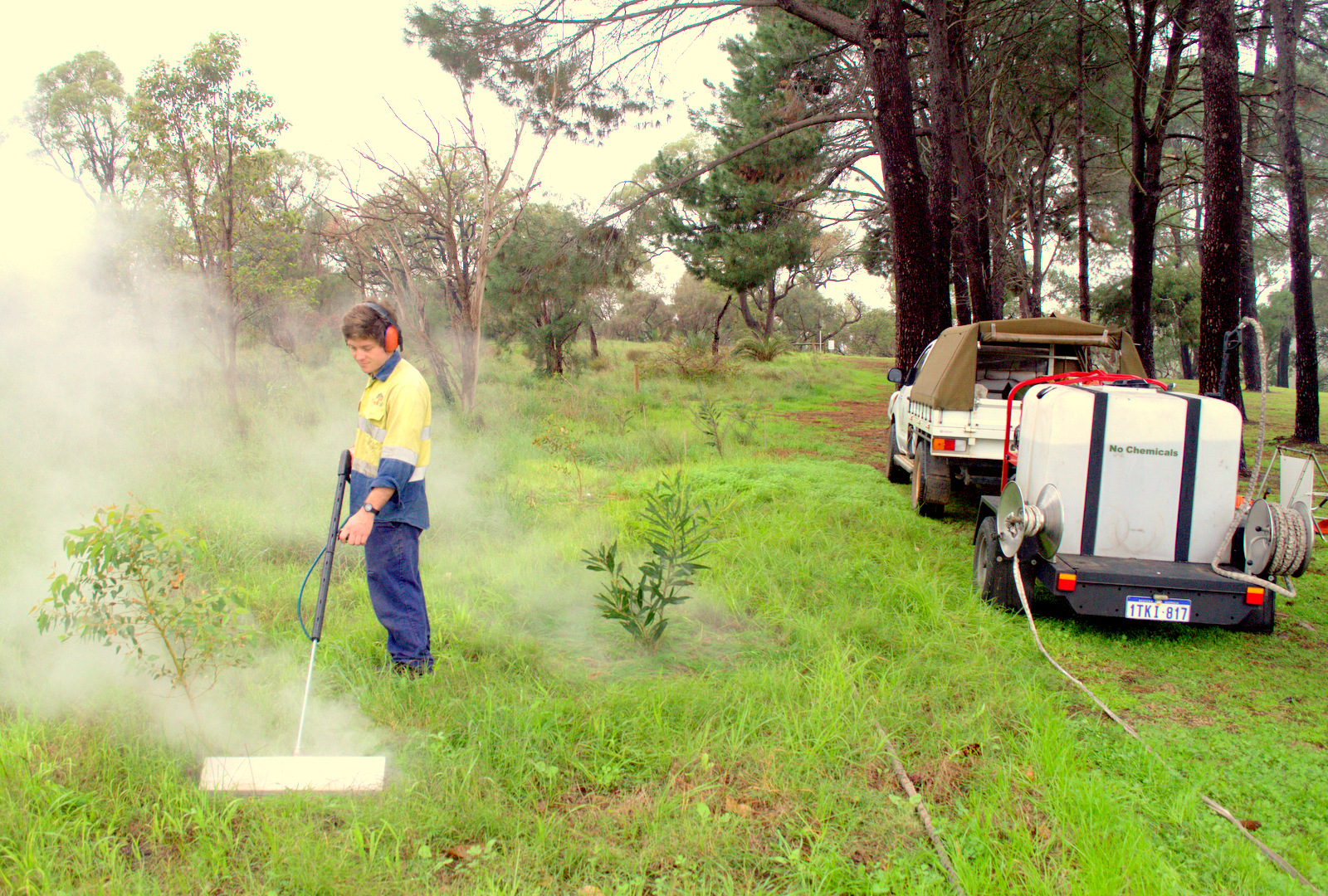 AT THE FOREFRONT OF STEAM WEED CONTROL